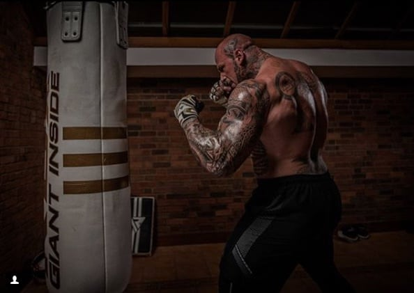 WATCH: One Of The Scariest Men On The Planet Is Preparing For His MMA Debut